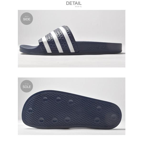 アディダス オリジナルス adidas Originals サンダル シャワーサンダル アディレッタ メンズ レディース アウトドア|z-craft|02