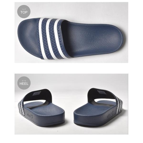アディダス オリジナルス adidas Originals サンダル シャワーサンダル アディレッタ メンズ レディース アウトドア|z-craft|03