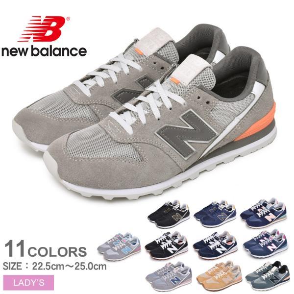ニューバランススニーカーレディースNEWBALANCEWL996黒ブラック紺ネイビー靴シューズローカットおしゃれ新生活