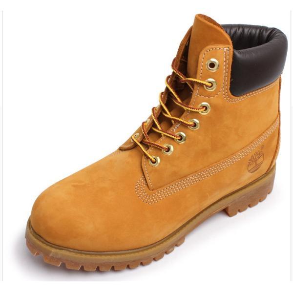 ティンバーランド ブーツ メンズ 6インチ プレミアムブーツ ウィートヌバック TIMBERLAND カジュアル イエロー アウトドア 靴 z-craft 04