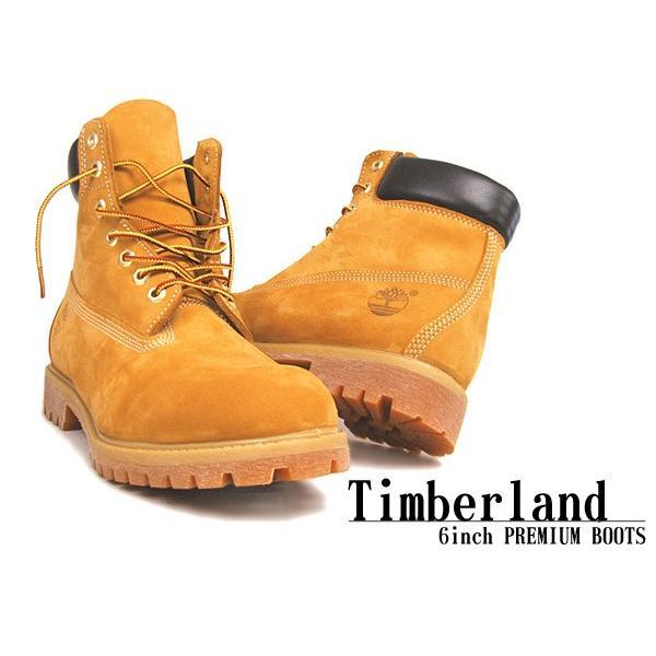 ティンバーランド ブーツ メンズ 6インチ プレミアムブーツ ウィートヌバック TIMBERLAND カジュアル イエロー アウトドア 靴 z-craft 06