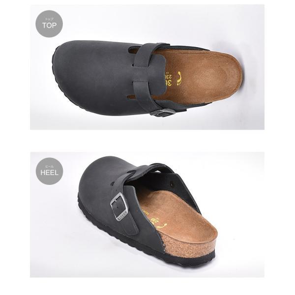 ビルケンシュトック ボストン レディース レザー BOSTON 細幅 シューズ スリッパ 歩きやすい つっかけ 靴 黒 BIRKENSTOCK サンダル クロッグ z-craft 06