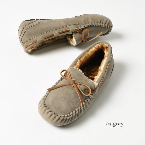 モカシンシューズ ファー モカシン レディース TO-115 カジュアル 靴 ふかふか TODOS トドス あったかい|z-craft|09