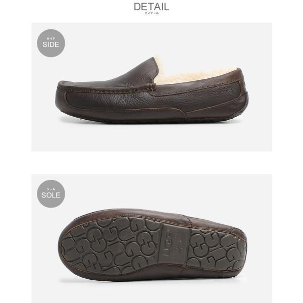 UGG アグ スリッポン アスコット ASCOT 5379 メンズ 靴 レザー シューズ ローファー フラットシューズ|z-craft|04