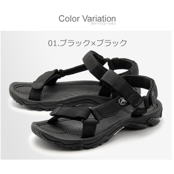 (40%以上OFF) パームツリー サンダル メンズ レディース スポーツサンダル PALMTREE PT-163 ブラック 黒 ホワイト 白 シューズ スポサン 靴|z-craft|04