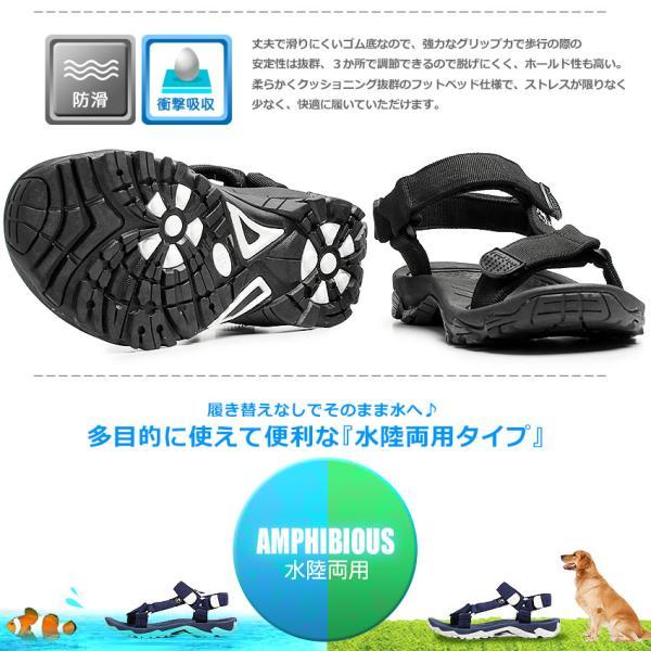 (40%以上OFF) パームツリー サンダル メンズ レディース スポーツサンダル PALMTREE PT-163 ブラック 黒 ホワイト 白 シューズ スポサン 靴|z-craft|10