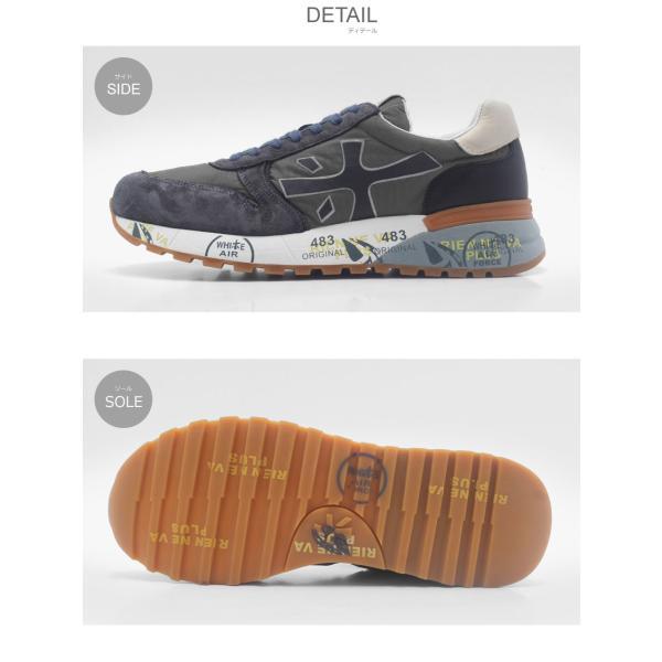 PREMIATA プレミアータ スニーカー ミック 2819 MICK 2819 VAR2819 メンズ 靴 シューズ|z-craft|02