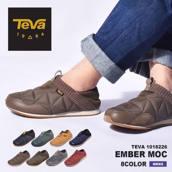 テバ スリッポン メンズ エンバーモック TEVA 1018226 2WAY スニーカー 靴 シューズ ブラック 黒 ネイビー グレー 2WAY z-craft