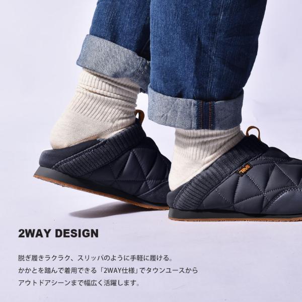 テバ スリッポン メンズ エンバーモック TEVA 1018226 2WAY スニーカー 靴 シューズ ブラック 黒 ネイビー グレー 2WAY z-craft 06