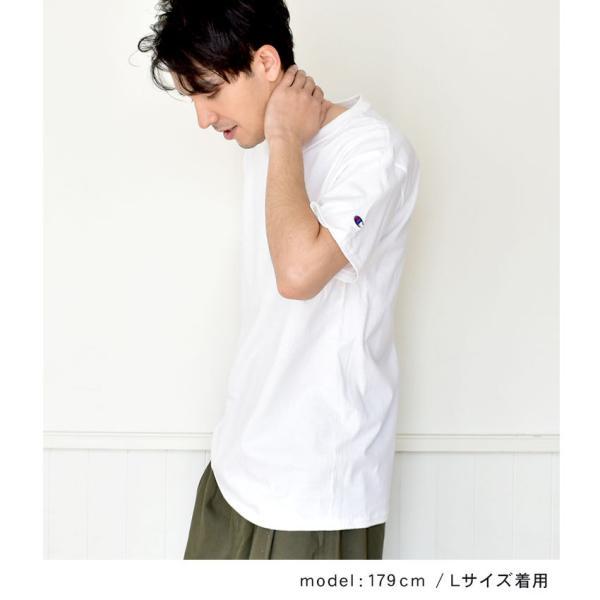 (メール便 送料無料) チャンピオン Tシャツ メンズ レディース CHAMPION T425 ブラック 黒 ホワイト 白 グレー ウェア ウエア トップス カジュアル|z-craft|02