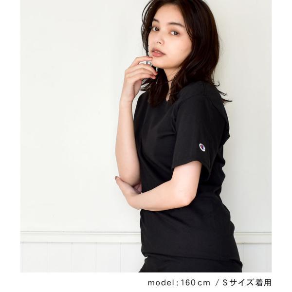 (メール便 送料無料) チャンピオン Tシャツ メンズ レディース CHAMPION T425 ブラック 黒 ホワイト 白 グレー ウェア ウエア トップス カジュアル|z-craft|03