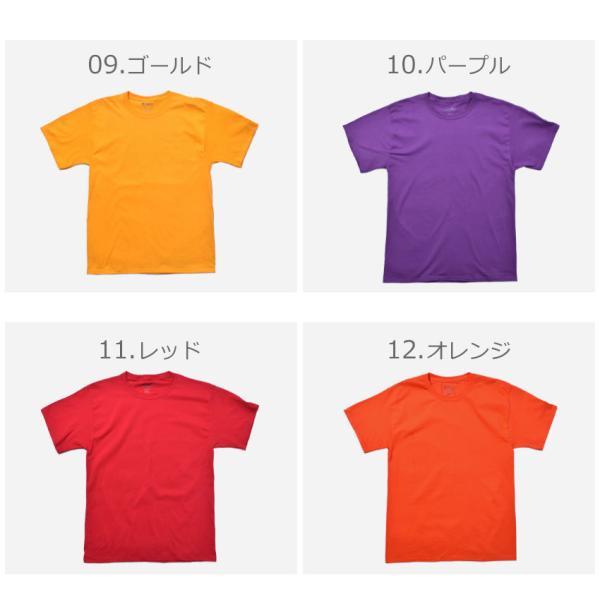 (メール便 送料無料) チャンピオン Tシャツ メンズ レディース CHAMPION T425 ブラック 黒 ホワイト 白 グレー ウェア ウエア トップス カジュアル|z-craft|06