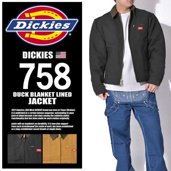 f940af55e ディッキーズ DICKIES ジャケット ダック ブランケット ラインド ジャケット メンズ
