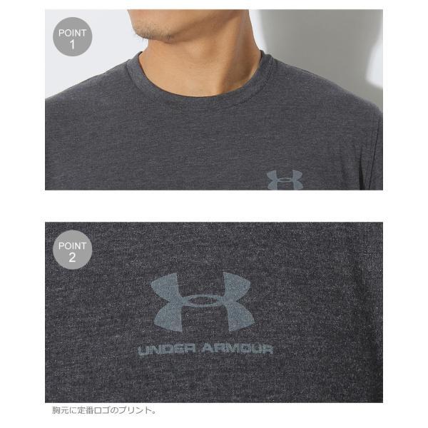 【メール便可】UNDER ARMOUR アンダーアーマー Tシャツ レフト チェスト ロゴTシャツ 1257616 メンズ z-craft 14