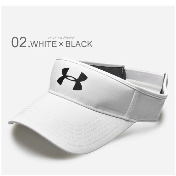 UNDER ARMOUR アンダーアーマー サンバイザー UA ヘッドライン ゴルフ バイザー 1291834 帽子|z-craft|03