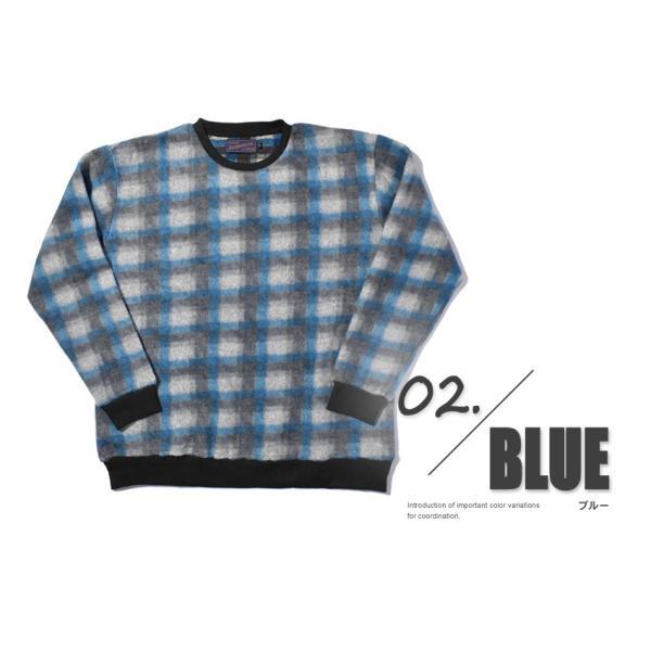 (半額以下) トレーナー メンズ フリース クルーネック FLEECE CREW NECK IN-1110F インクルーシブ|z-craft|03