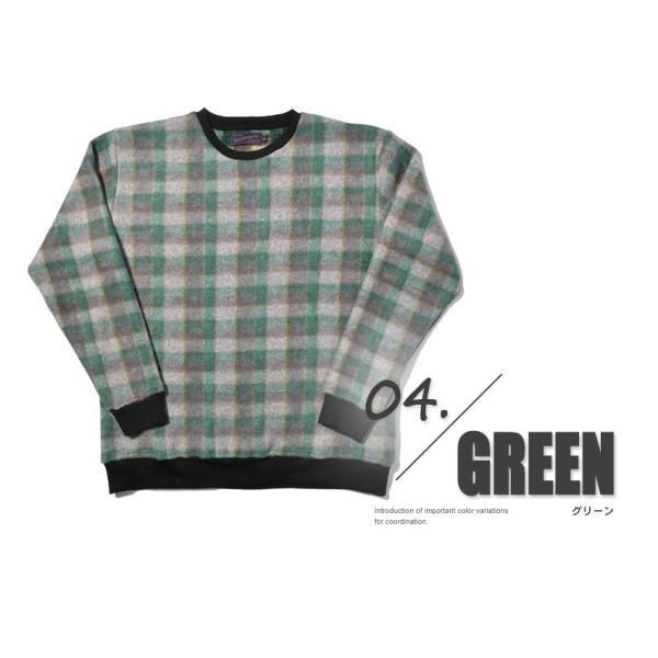 (半額以下) トレーナー メンズ フリース クルーネック FLEECE CREW NECK IN-1110F インクルーシブ|z-craft|05