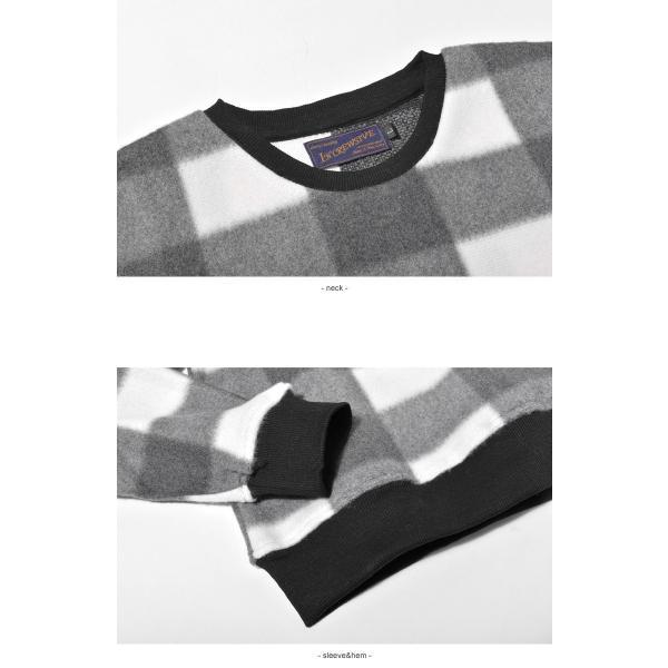 (半額以下) トレーナー メンズ フリース クルーネック FLEECE CREW NECK IN-1110F インクルーシブ|z-craft|09