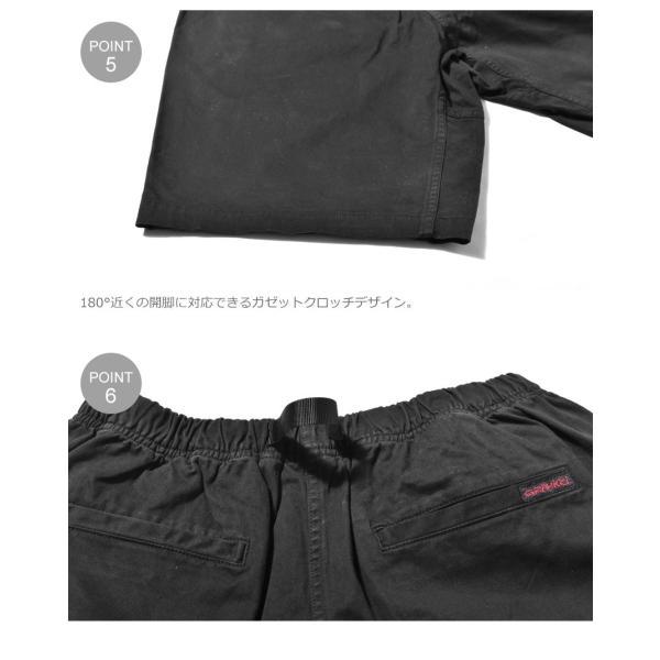 (割引クーポン配布中) グラミチ ショートパンツ メンズ STショーツ GRAMICCI 8555-NOJ ブラック 黒 パンツ ショーパン ボトムス カジュアル アウトドア|z-craft|09