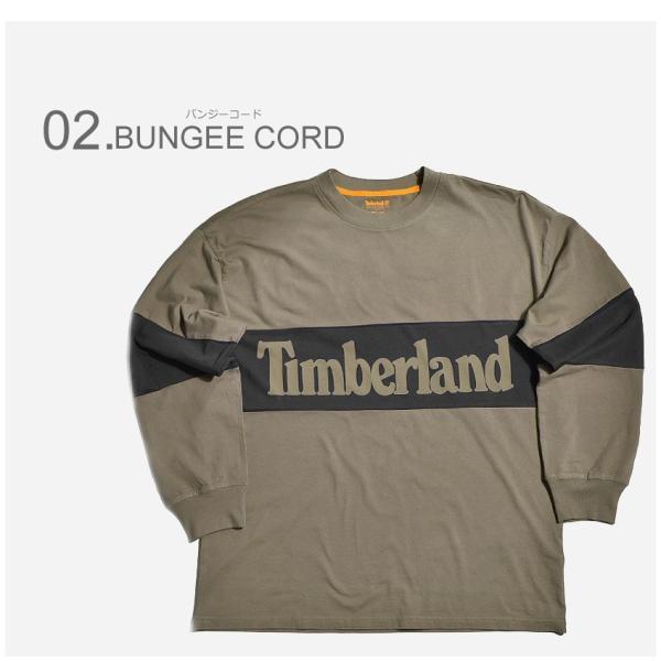 (店内全品クリアランス) 【メール便可】TIMBERLAND ティンバーランド 長袖Tシャツ リニアツリー オーバーサイズ 長袖Tシャツ A1MBW メンズ|z-craft|03