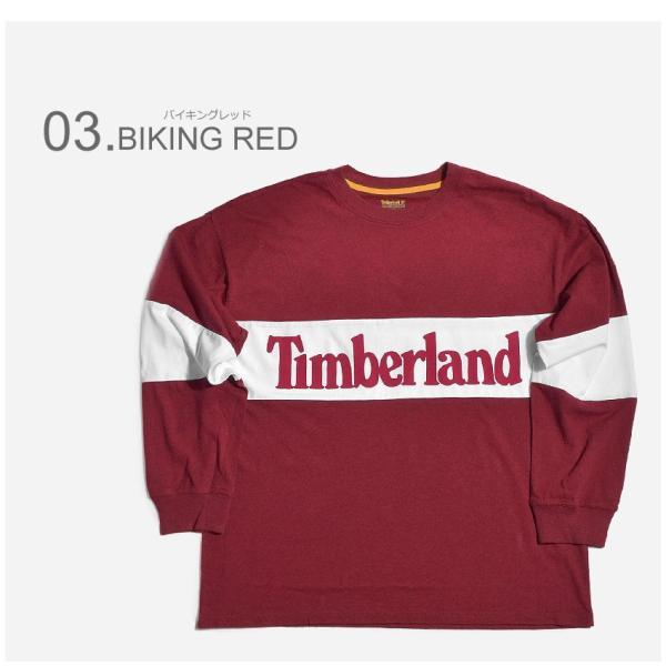 (店内全品クリアランス) 【メール便可】TIMBERLAND ティンバーランド 長袖Tシャツ リニアツリー オーバーサイズ 長袖Tシャツ A1MBW メンズ|z-craft|04