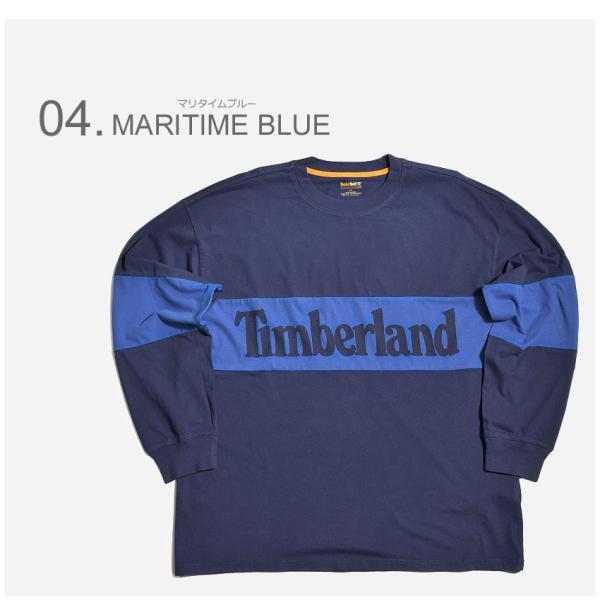 (店内全品クリアランス) 【メール便可】TIMBERLAND ティンバーランド 長袖Tシャツ リニアツリー オーバーサイズ 長袖Tシャツ A1MBW メンズ|z-craft|05