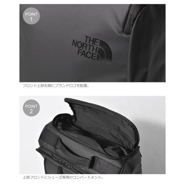 ノースフェイス THENORTHFACE マイルストーンバックパック NM61918 メンズ レディース 鞄 バッグ リュックサック 黒 ネイビー アウトドア 大容量 ノースフェース z-craft 05