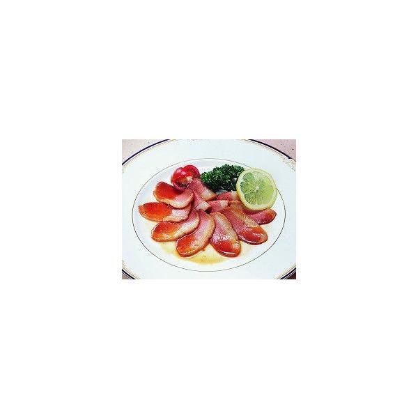 合鴨ロース焼スライス 500g コックフーズ 生肉 鴨肉 調理具材 料理材料 家庭用 業務用 [冷凍食品]