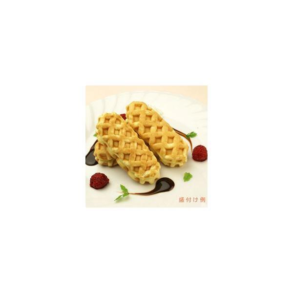 原宿ドックミニ ( チーズCa ) 約 40g × 40個入 ニチレイ 小さめ 小分け ワッフル 40人前 40人分 スイーツ デザート おやつ 洋菓子 家庭用 業務用 [冷凍食品]