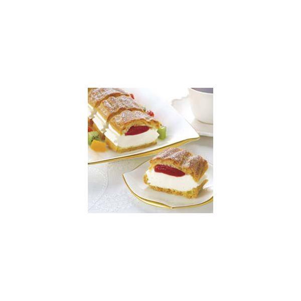 フリーカットケーキシュークリーム (イチゴ) 335g 味の素 苺 スイーツ RCP [冷凍食品] ホワイトデー お返し