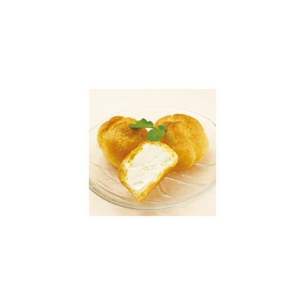 シューアイスバニラ 約 27g × 15個入 15人前 15人用 バニラアイス アイスクリーム シュークリーム デザート おやつ 洋菓子 家庭用 業務用 [冷凍食品]