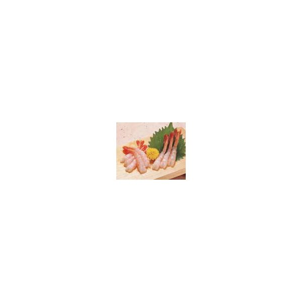 尾付ムキ甘エビ ( 無頭 ) 50尾入 M マルハニチロ 尾付き 50匹 ムキエビ むきえび むき海老 むき身 殻なし お刺身 魚介類 海鮮 BBQに 業務用 [冷凍食品]