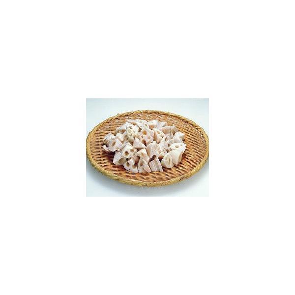 れんこん乱切り 500g ( 約 55 〜 70個入 ) 野菜 蓮根 レンコン そのまま使える カット済 調理具材 料理材料 家庭用 業務用 [冷凍食品]