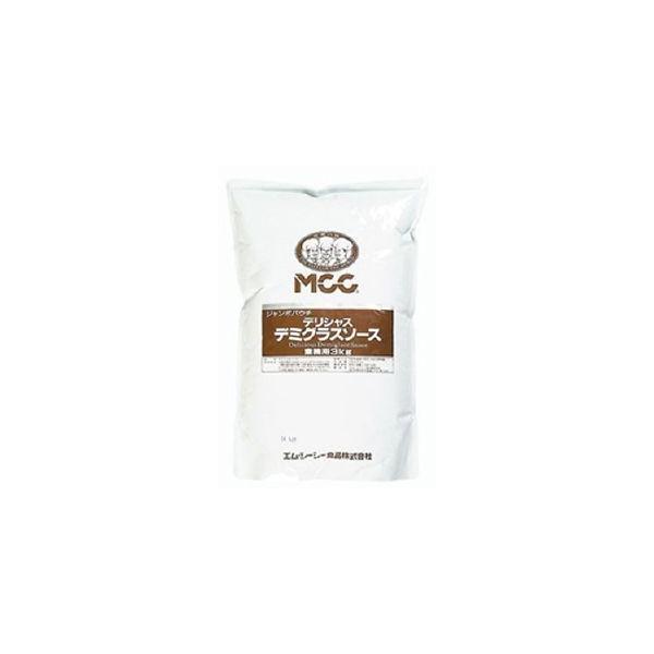 ジャンボパウチデリシャス デミグラスソース3kg MCC 大容量 まとめ買い 味付け用 調味料 家庭用 業務用 [常温商品]