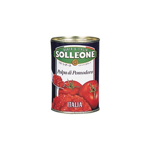 ソル・レオーネ ダイストマト 400g 日欧商事 缶詰 調味料 ベースソース ダシ 野菜 とまと 業務用 [常温商品]