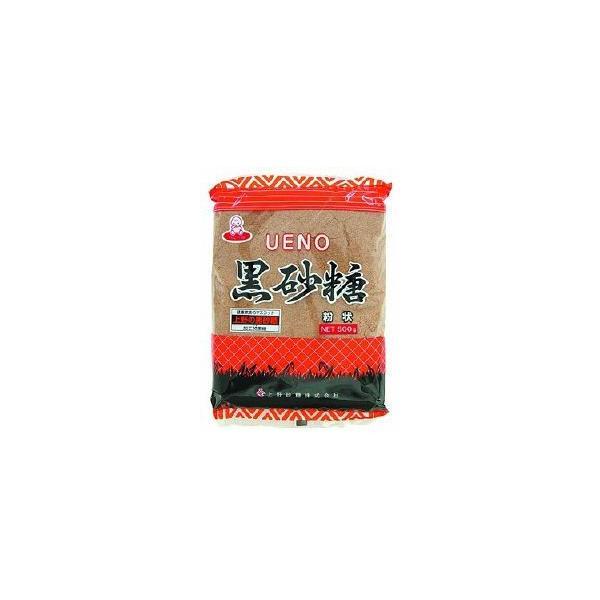 粉黒砂糖 500g 上野砂糖 さとう 調味料 製菓材料 業務用 [常温商品]
