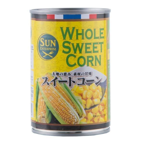 スィートコーン 4号缶 缶詰 トウモロコシ とうもろこし サラダに 調理具材 料理材料 業務用 [常温商品]