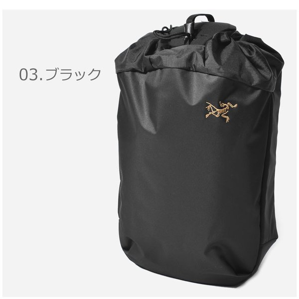 ARC'TERYX アークテリクス バックパック アロー 20 バケットバッグ 24017 メンズ レディース リュック ブランド 鞄 おしゃれ|z-mall|04