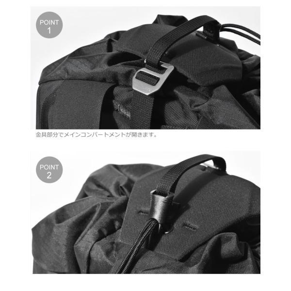 ARC'TERYX アークテリクス バックパック アロー 20 バケットバッグ 24017 メンズ レディース リュック ブランド 鞄 おしゃれ|z-mall|06