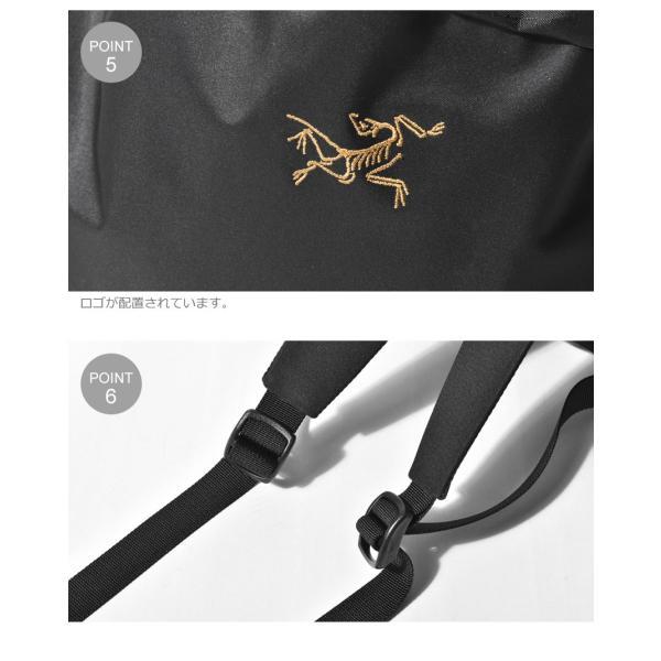 ARC'TERYX アークテリクス バックパック アロー 20 バケットバッグ 24017 メンズ レディース リュック ブランド 鞄 おしゃれ|z-mall|08
