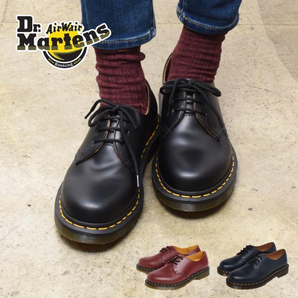 ドクターマーチン 3ホール メンズ レディース 1461 ギブソン DR.MARTENS 11838002 靴 シューズ 冬の画像
