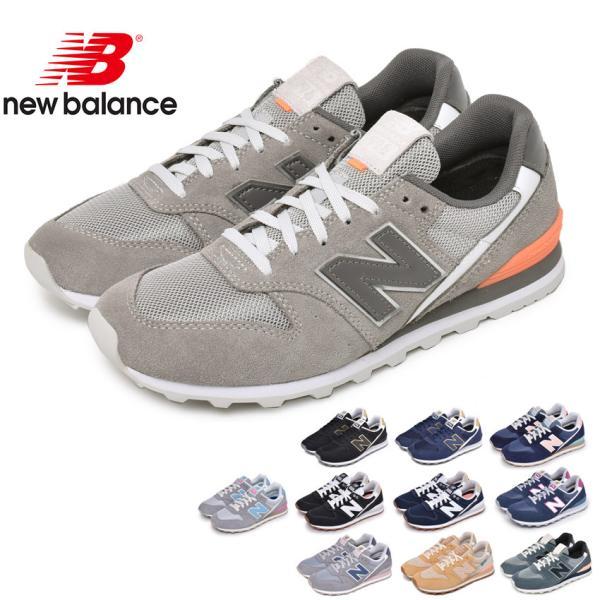 ニューバランススニーカーレディースNEWBALANCEWL996黒ブラック紺ネイビー靴シューズローカットおしゃれ