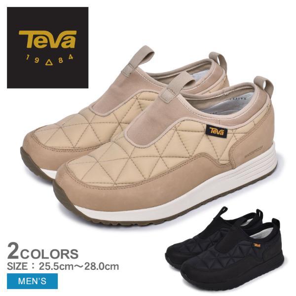 テバ スリッポン メンズ エンバー コミュート スリッポン ウォータープルーフ TEVA 1116051 黒 ブラック ベージュ ピンク テヴァ
