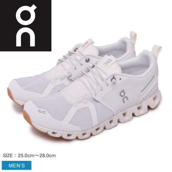 オン シューズ メンズ クラウド テリー ON ホワイト 白 靴 スニーカー 軽量 デイリーユース 旅行 ウォーキング ランニング