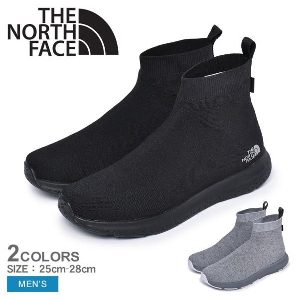 ザ ノースフェイス THE NORTH FACE ミッドカット シューズ メンズ ベロシティニット ミッド ゴアテックスインビジブルフィット NF51997
