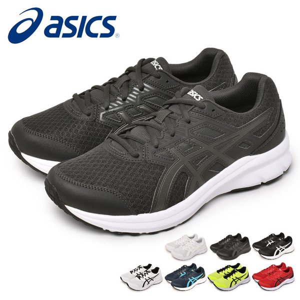 アシックススニーカーメンズレディースJOLT3ASICS1011B041ブラック黒ホワイト白シューズランニングジョギング靴