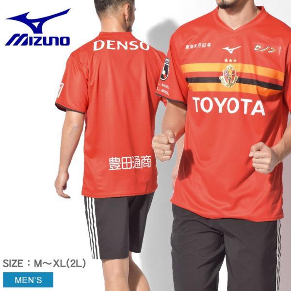 名古屋グランパス レプリカ ユニフォーム Tシャツ 半袖 ユニ P2JA9Y0809 メンズ ウェア サッカー 2019|z-sports