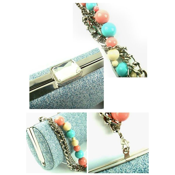 ワチャマコリ wHAtcHaMaCaLLit CANDY CHAIN CLUTCH BAG (WM-021) クラッチバッグ レディース