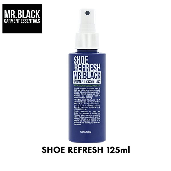 ミスター ブラック MR.BLACK シューリフレッシュ シューズ用 消臭スプレー 125ml (航空便対象外商品)