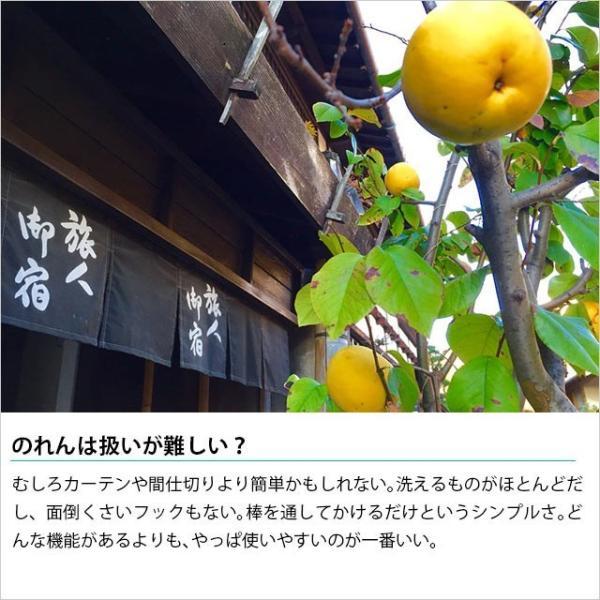 のれん 2WAY 速乾 洗える暖簾 ハーモニー 85×150cm【メール便送料無料】 zabu 06